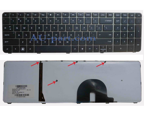 Original Brand New HP Envy 17 17-1000 17-1100 17-2000 Series US Layout laptop keyboard--with Backlit